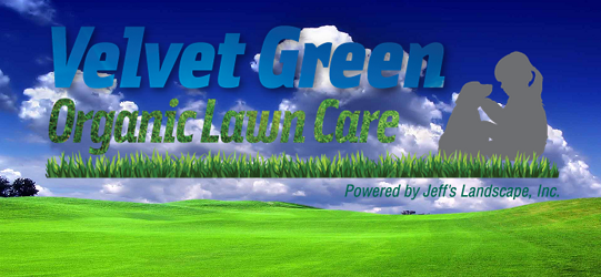 Velvet Green Organic Lawn Care Slider